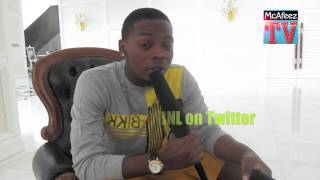 McAfeez TV - Olamide Short Freestyle On McAfeez TV