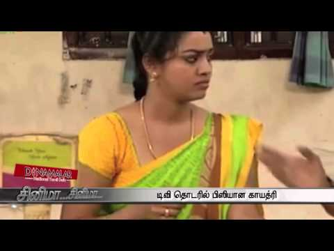 Actress Gayathri Becomes Busy in Serials - Dinamalar August 16th 2015 Tamil Video