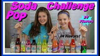 SODA POP CHALLENGE || Taylor and Vanessa