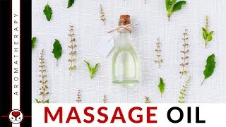 DIY Massage Oil