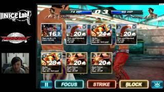 Tekken Card Tournament Online WW Championship Intense Clutch Match