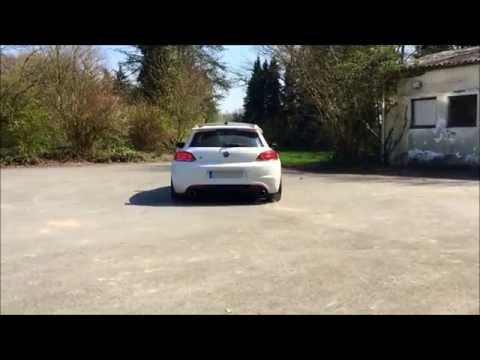 Underground Exhaust VW Scirocco 2.0 TSI Stage 3 Klappenauspuff Sound loud