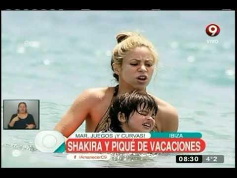 Xxx Mp4 Las Fotos De Las Vacaciones De Shakira Y Piqué En Ibiza 3gp Sex