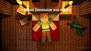 If Naked Dimension was Added - Minecraft