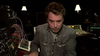 I like to introduce you to my latest synthesizer - Jean Michel Jarre