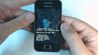 Samsung Galaxy Ace S5830 hard reset