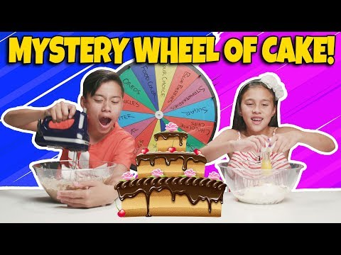 MYSTERY WHEEL OF CAKE CHALLENGE Who Can Bake the Best Dessert