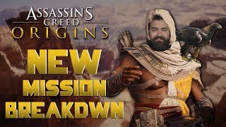 Assassin's Creed Origins Gameplay: New Mission Breakdown