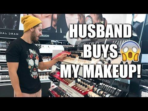 MY HUSBAND BUYS MY MAKEUP FOR ME   SEPHORA
