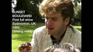 First performance SUNSET BOULEVARD 1992