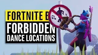 Fortnite | Dance in Different Forbidden Locations Guide | Season 7 Week 1