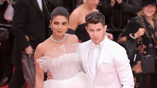 Cannes 2019: Priyanka Chopra, Nick Jonas twin in white at red carpet