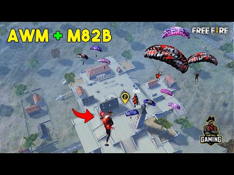 Best AWM and M82B OverPower Ajjubhai Gameplay with Jontybhai Garena Free Fire