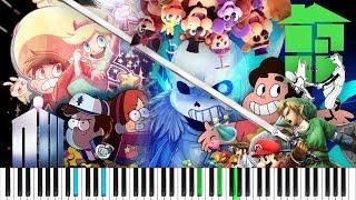 MegaLoVania FANDOM MEDLEY! // Piano