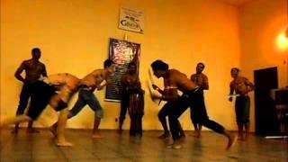 Maculelê com facão conexão afro Nova serrana-mg