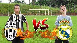 ALADDIN vs BOLIVIA ( Juventus vs Real Madrid ) Desafios de Futebol