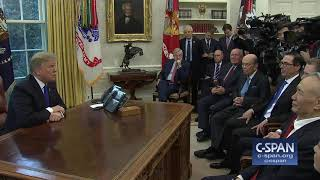 """Word for Word: """"On the wall? Will I veto it? 100%."""" (C-SPAN)"""