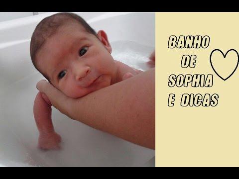 Como dou banho em Sophia e Dicas Gabi Macêdo