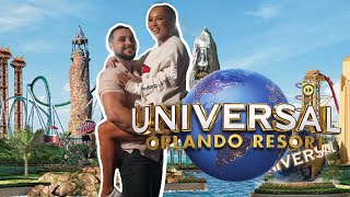 COME TO UNIVERSAL STUDIOS ORLANDO WITH US! | USA TRAVEL VLOG | ELLE DARBY