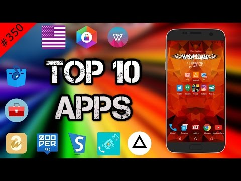 #350 Top 10 Best APPS - August 2016