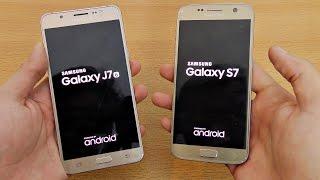 Samsung Galaxy J7 (2016) vs Galaxy S7 - Speed Test! (4K)