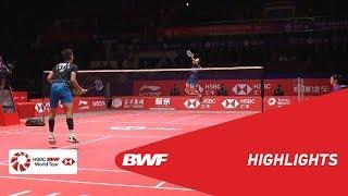 HSBC BWF World Tour Finals 2018 | MS - SF - HIGHLIGHTS | BWF 2018
