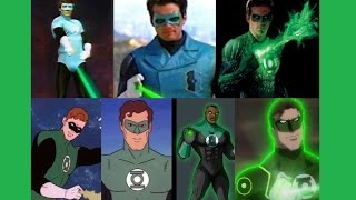 Green Lantern - Evolution in TV & Cinema