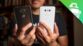 LG V30 vs LG G6 Quick Look