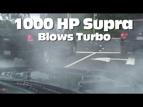 1000 HP Supra Blows Turbo