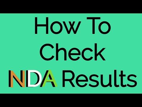 Xxx Mp4 UPSC NDA Result 2017 UPSC NDA का Fina Result Dounload कैसे करे । How To Download NDA Result 3gp Sex