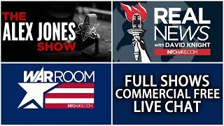LIVE 🗽 REAL NEWS with David Knight ► 9 AM ET • Monday 6/25/18 ► Alex Jones Infowars Stream