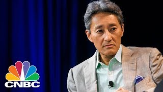 Sony CEO Kazuo Hirai Introduces New Products At CES 2018   CNBC