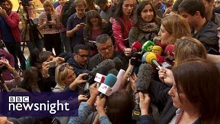 Catalan independence: where is President Puigdemont? - BBC Newsnight