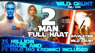 2-MAN SOLO (Duo) FULL HAAT Raid (Thrawn P3, Resistance, Clones, Zylo) | Star Wars Galaxy of Heroes