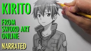 How to Draw Kirito from