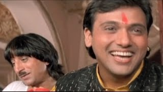 Govinda, Kadar Khan, Shakti Kapoor, Raja Babu - Comedy Scene 2/21 - Comedy Week