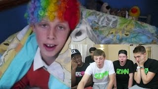 THE SIDEMEN REACT TO MY OLD VIDEOS!!
