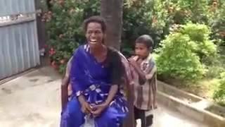 Tamil lady comedy