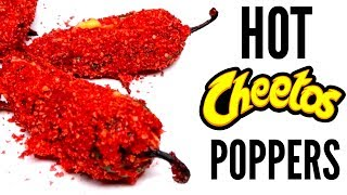 FLAMIN' HOT CHEETOS JALAPENO POPPER DIY | How To