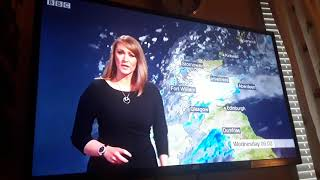 Kirsteen Macdonald BBC Scotland Weather 2018