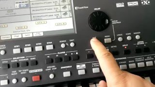 Korg Pa600 style freezing problem and solution