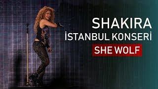 Shakira - She Wolf (İstanbul Konseri)