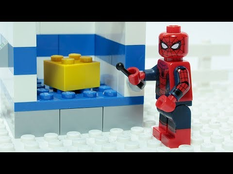 Lego Spider man Matching Brick Objects Superheroes Funny Animation
