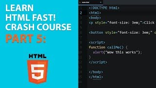 [2018] HTML for Beginners Crash Course: Part 5