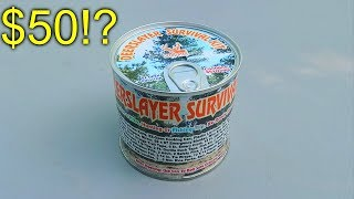 $50 Survival Kit in a Can!?