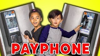KIDS REACT TO PAYPHONES