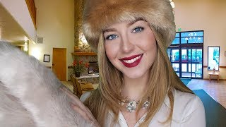 ASMR Winter Luxury Hotel & Spa Check In Roleplay