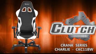 Clutch Chairz Crank Series - Charlie - CKC11BW Gaming Chair