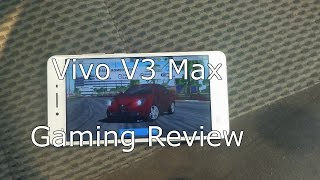 Vivo V3 Max Gaming Review With Heating Test