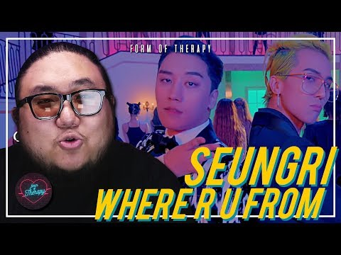 """Producer Reacts to SEUNGRI """"WHERE R U FROM"""""""